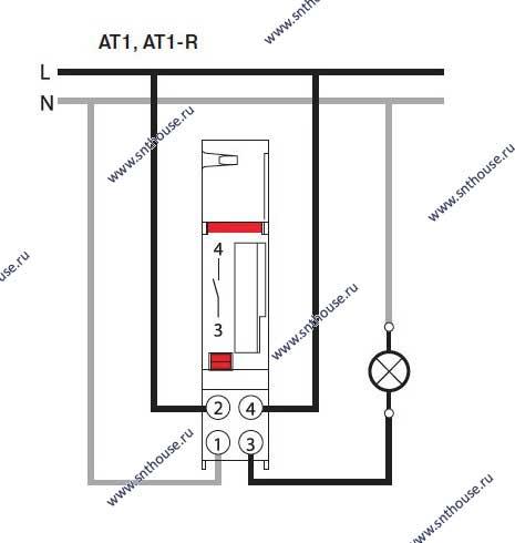 At1-r схема подключения