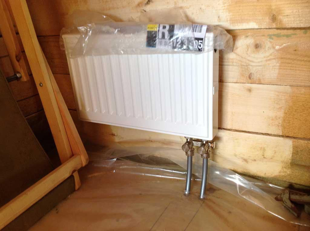 Монтаж радиаторов отопления с нижним подключением своими руками 55