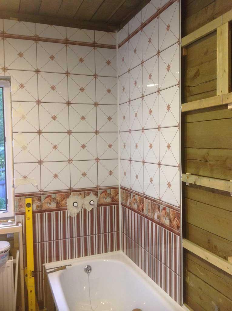 Панели пвх для ванной комнаты фото своими руками 427